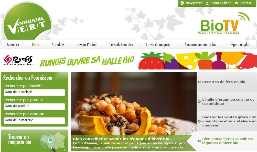 site annuaire vert